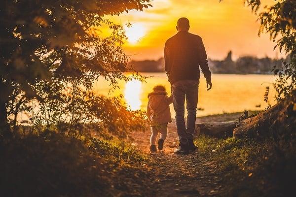 Татко и дъщеря