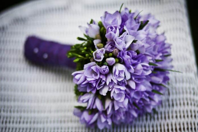 Подарък цветя