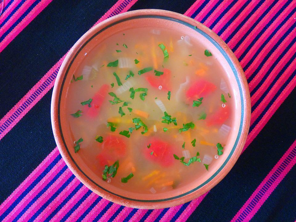 Супа с киноа