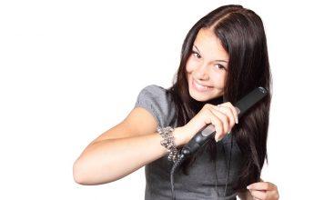Почистване на пресата за коса