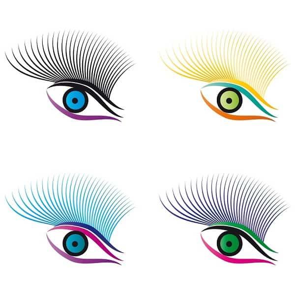 Спирала според цвета на очите