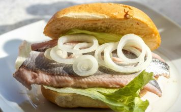 Здравословни сандвичи с риба