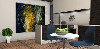 Декорация на кухнята - картини за стена