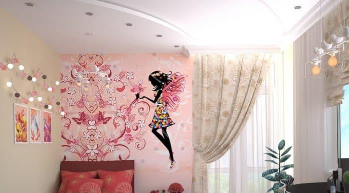 декорация на детска стая за момиче