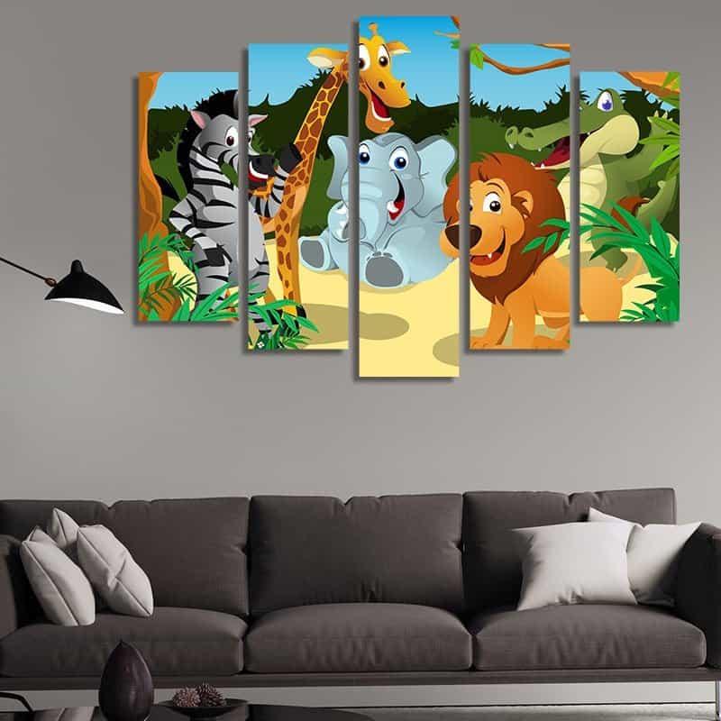 Декорация за стена за детска стая