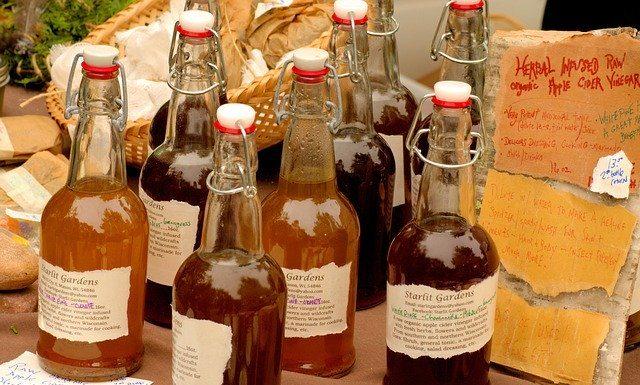 приготвяне на ябълков оцет