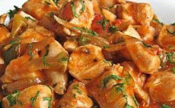 пилешка кавърма рецепта