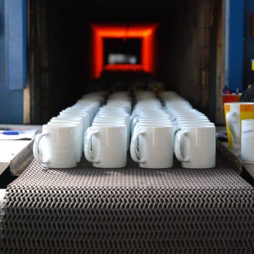 производство на порцеланови чаши