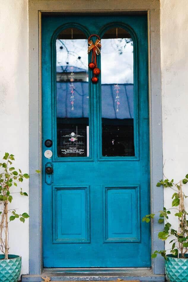 стилна входна врата