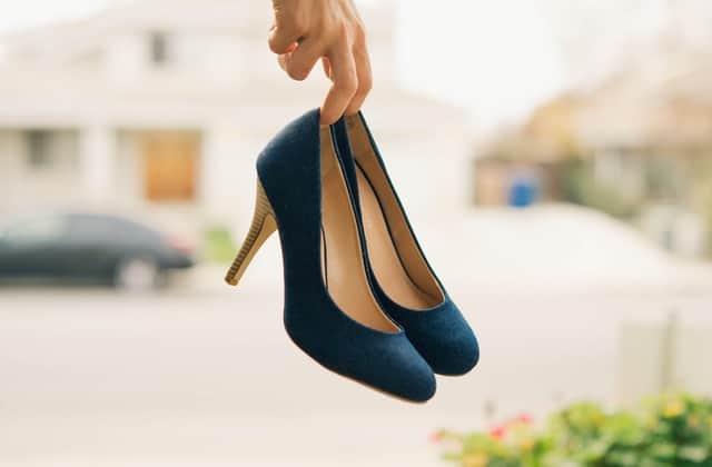 удобни високи обувки