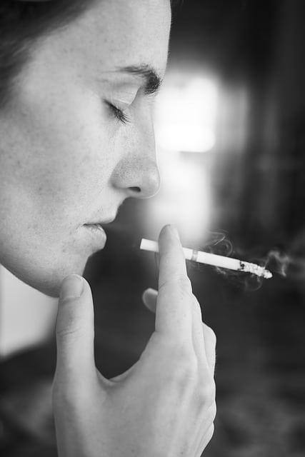 пушене и торбички под очите